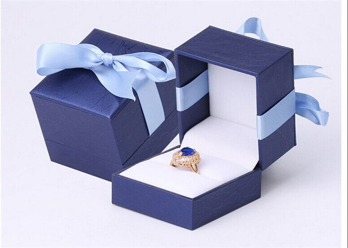 Handmade Jewellery Packaging Boxes , Elegant Style Custom Printed Jewelry Boxes